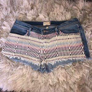 Roxy yarn shorts